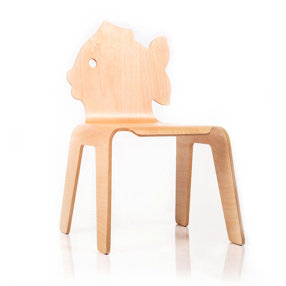 "Bloom Chair ""Creature-Fish"""