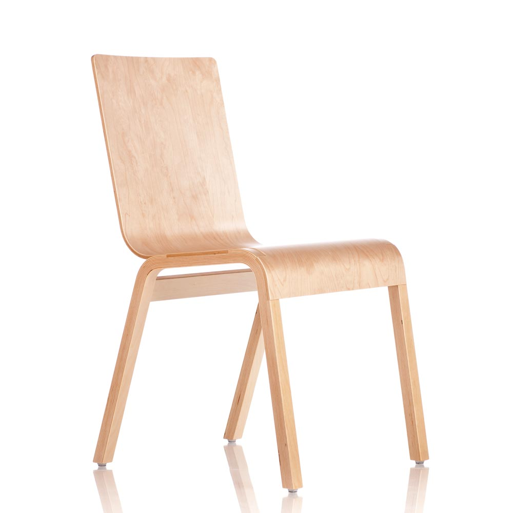 "Bloom Chair ""Zipper"" Birch"