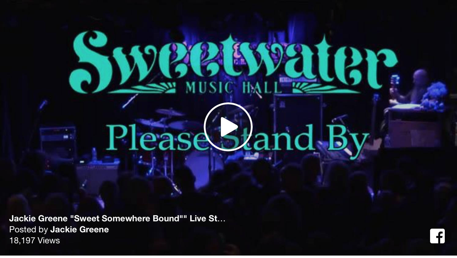 "Jackie Greene performs ""Sweet Somewhere Bound"" in its entirety on night 2 of six sold out shows at Bob Weir's Sweetwater Music Hall"