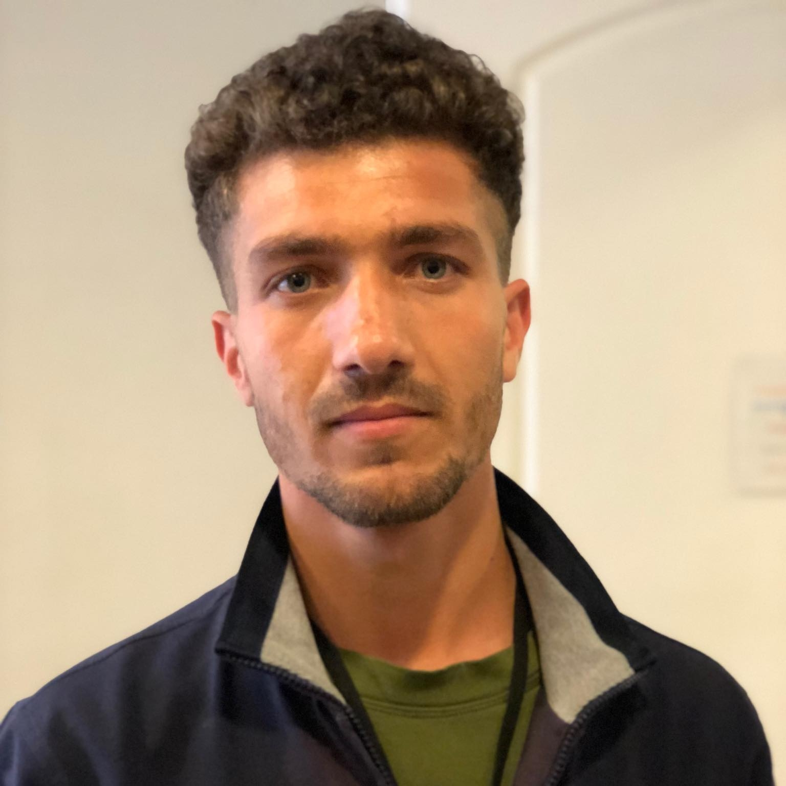 """Reshad, 22 - Afghanistan   """"I want to help the refugees on this island, especially now with the cold. I want to thank the people for listening to us and helping us."""""""