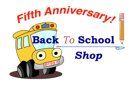Back to School Shop Fifth Anniversary!