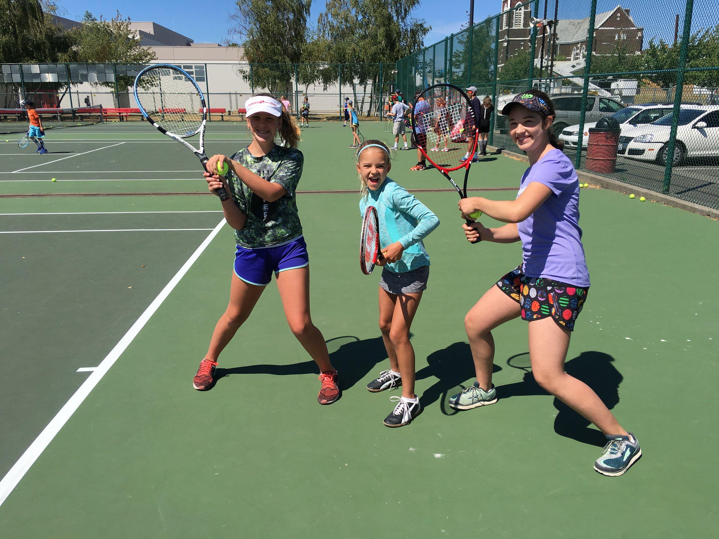 Gain tennis skills while having FUN!
