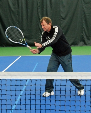 Our USPTA Tennis Pro Matthew will help your net game!
