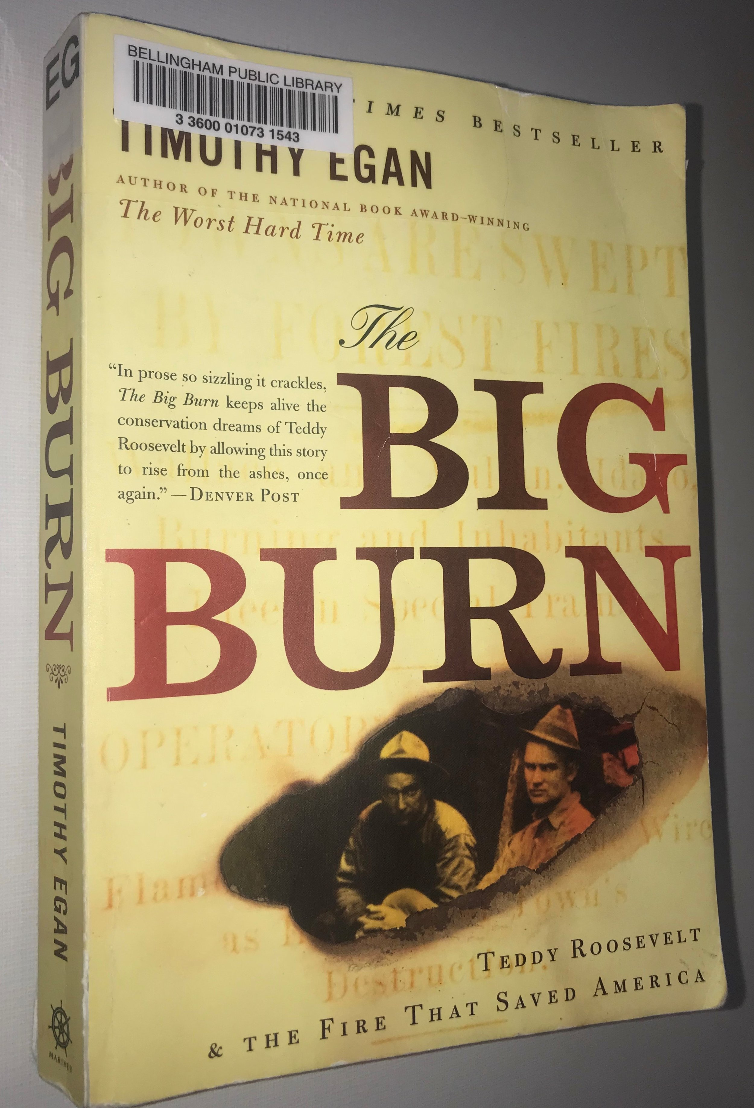 Whatcom Reads Selection 2019: The Big Burn