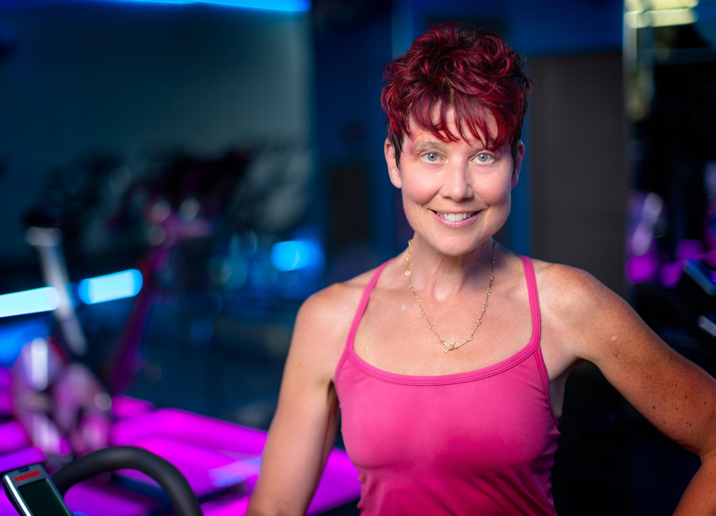 Fitness & Ride Instructor Elizabeth Sheinkopf