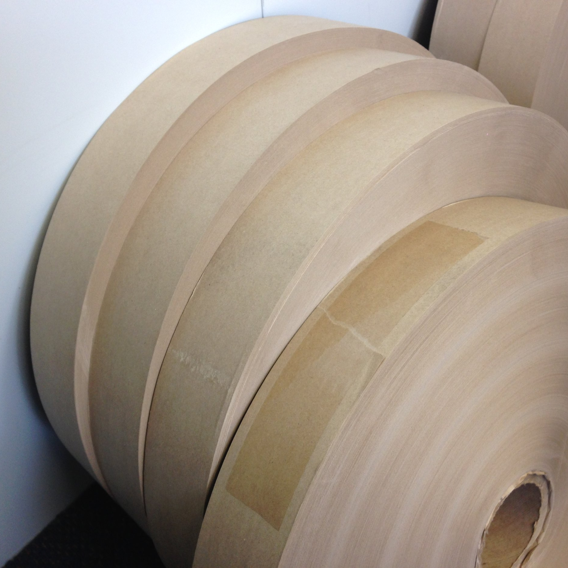 Paper and glue from New Zealand - Kraft paper is porous with high elasticity and high tear resistance.Completely biodegradable the rough texture helps absorb water and break down quicker.Our glue is a custom mix for our machine, specially made just for us.