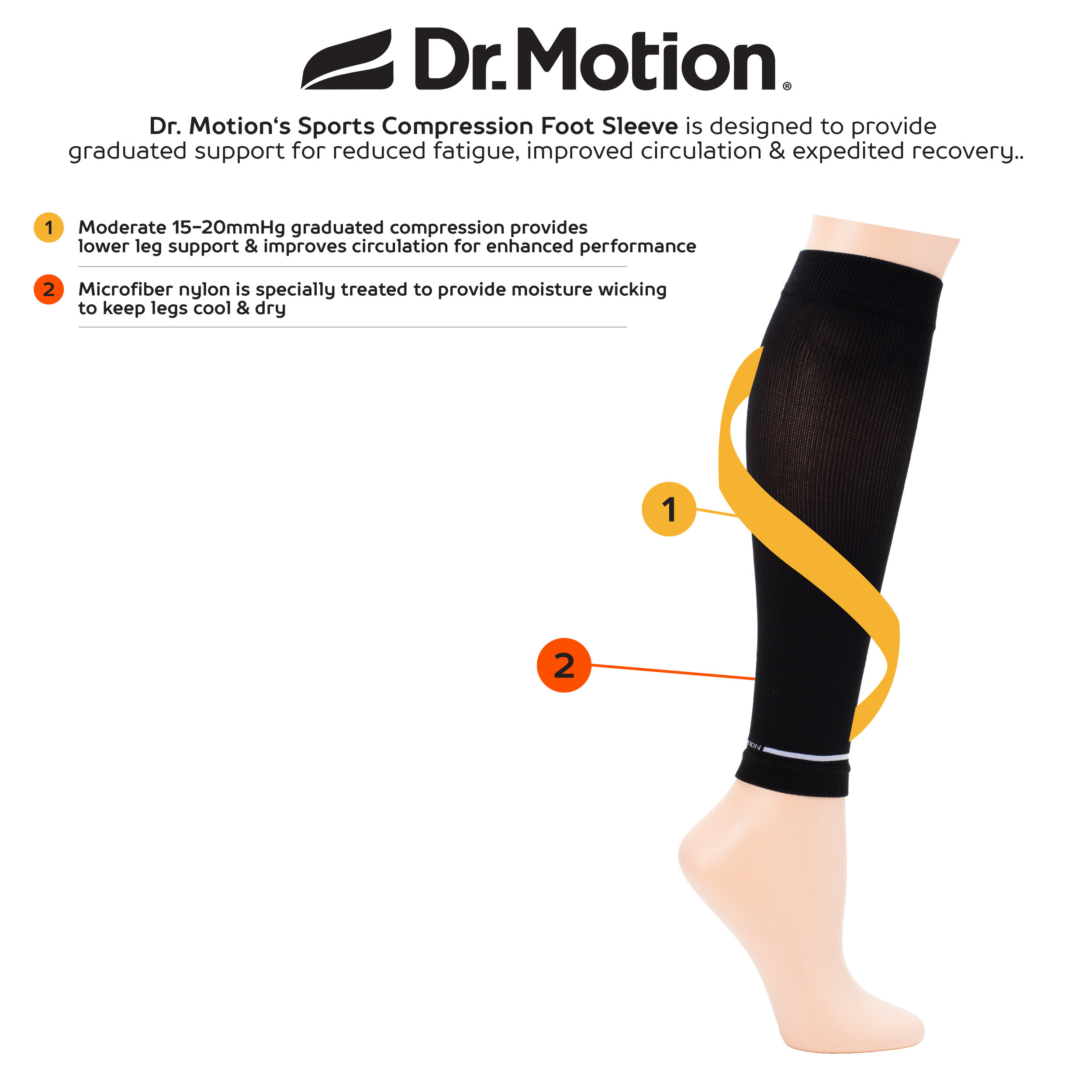 Dr Motion_Sports Compression Foot Sleeve.jpg