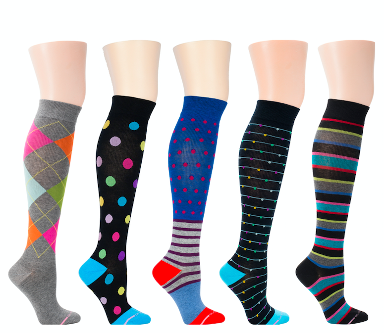 Colorful Compression Socks