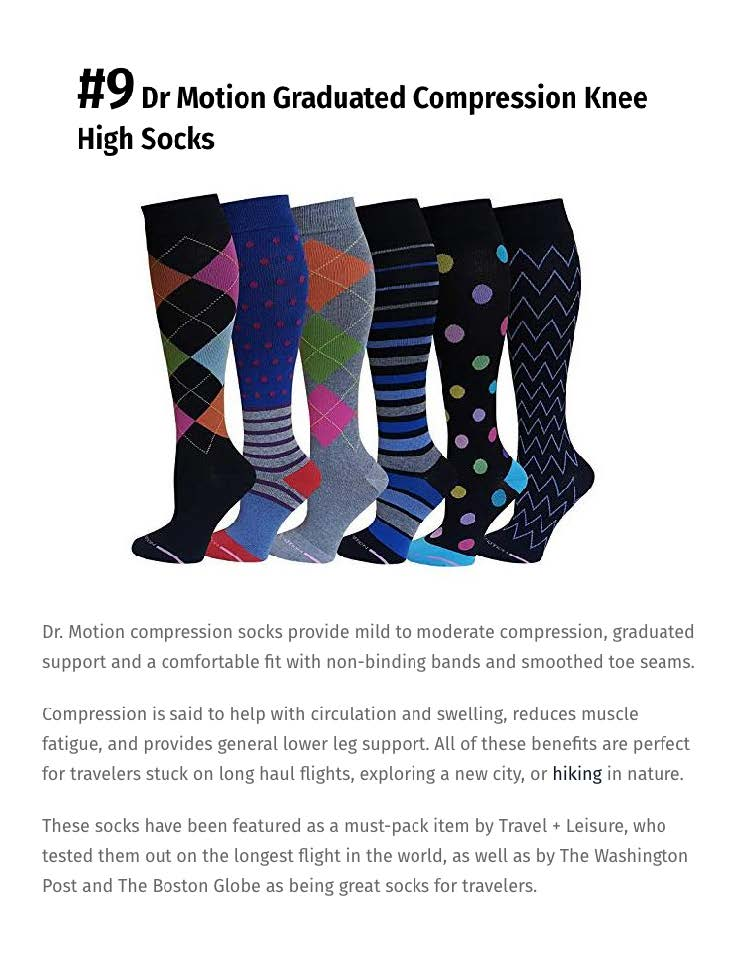 compression socks for traveling