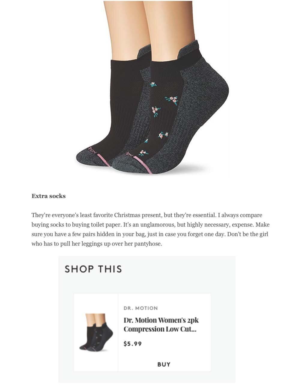 benefits of compression socks