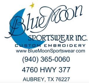 Blue Moon Sportswear Inc. logo