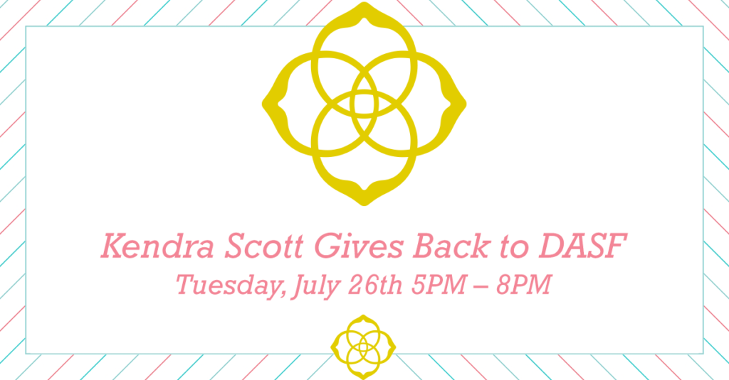 Kendra Scott Gives Back to DASF graphic
