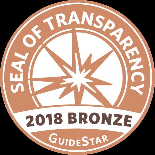 GuideStar 2018 Bronze Seal of Transparency