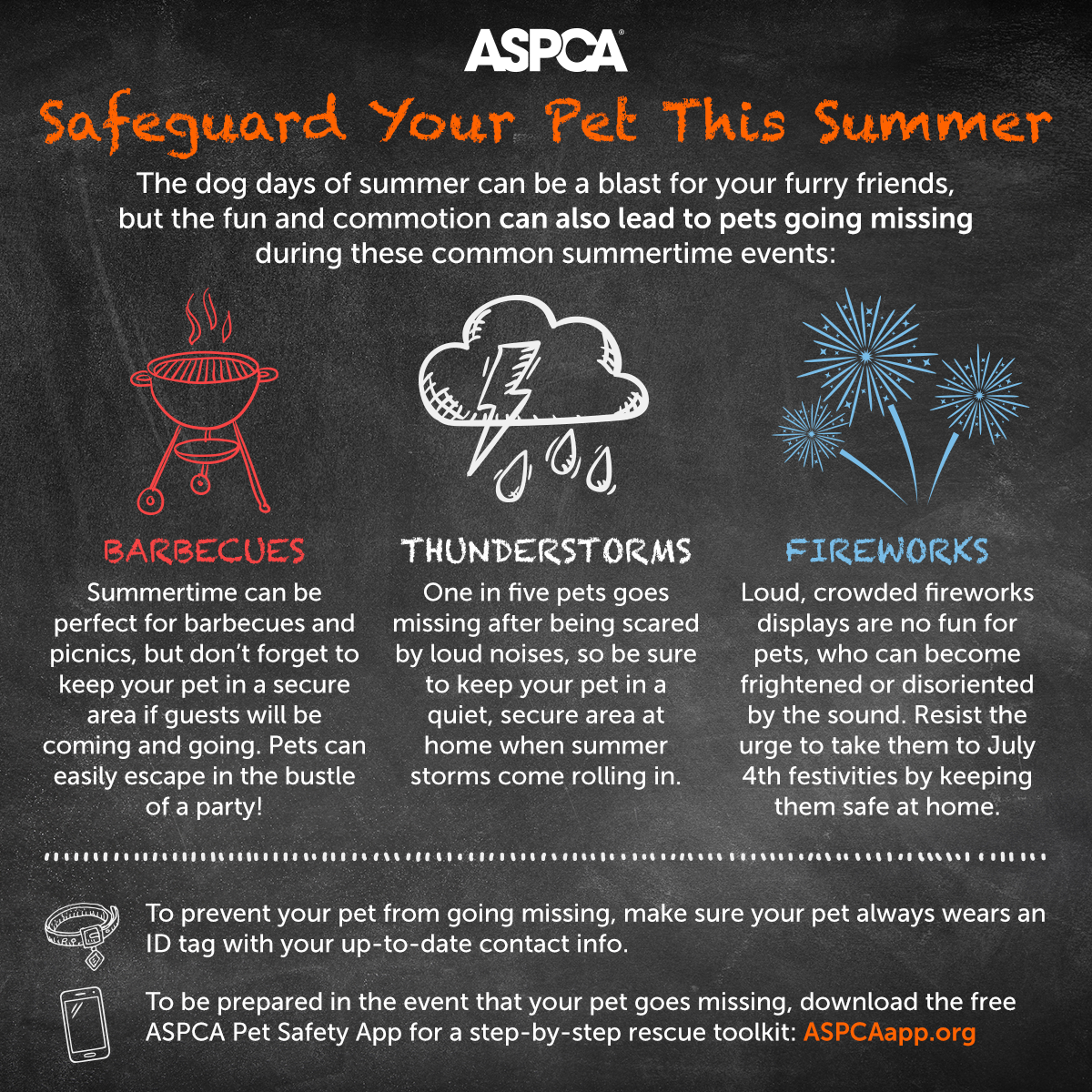 ASPCA Graphic: Safeguard Your Pet This Summer
