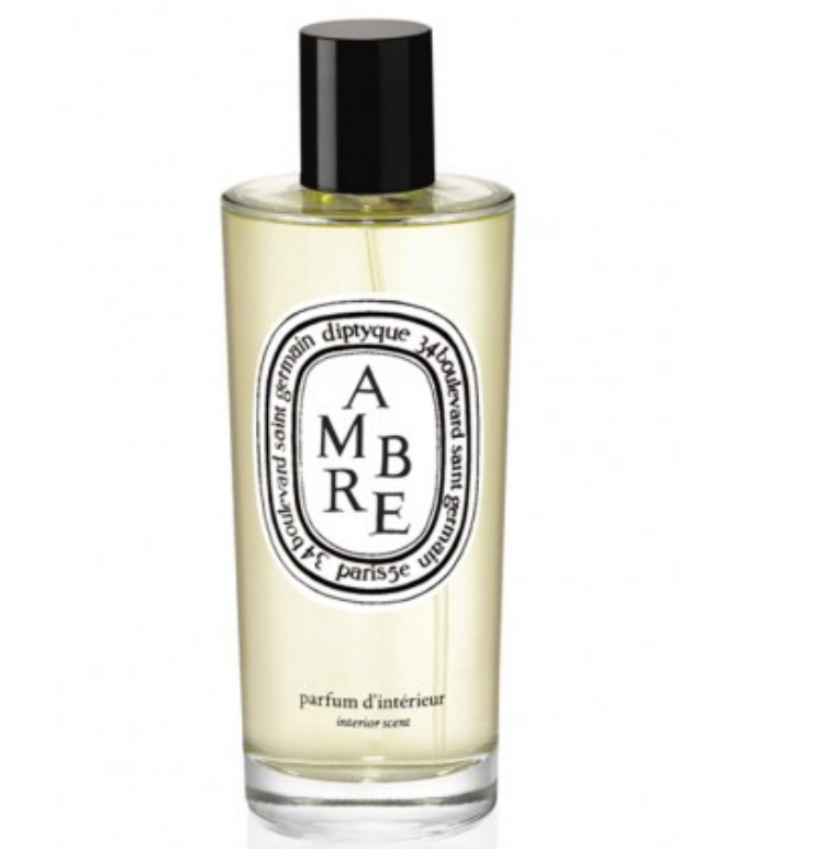 AMBRE - Warm, elegant, and spicy. I say yes to all three. This scent also comes as a diffuser.