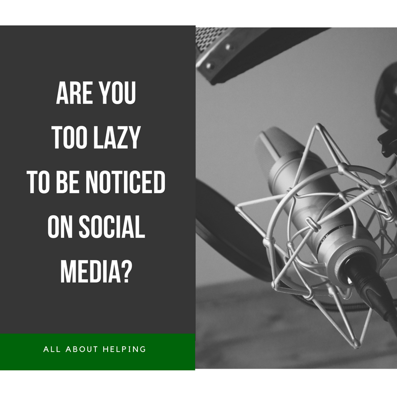 Are you too lazy?