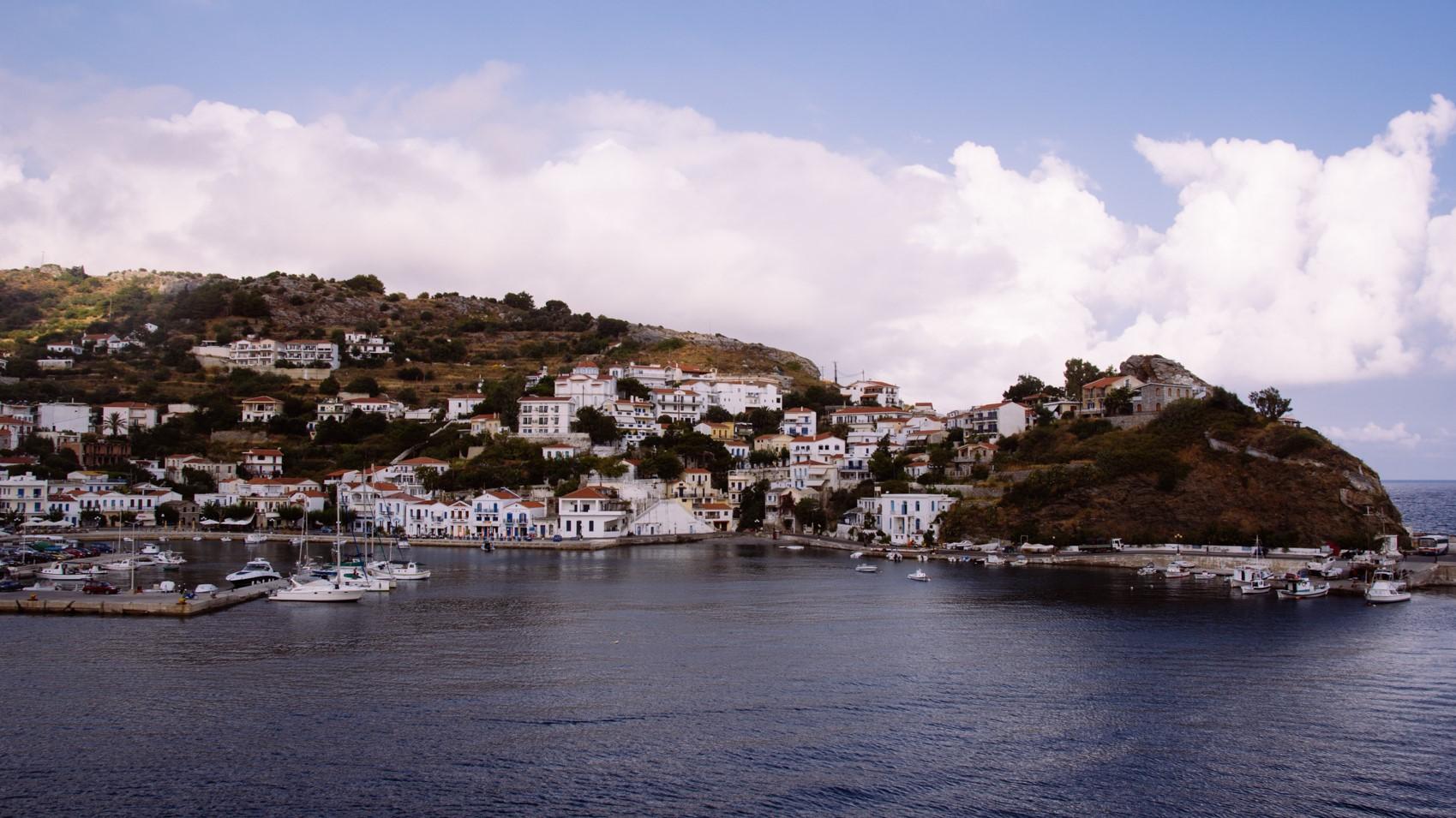 The island of Ikaria. Bonelli Arte for Foodk23