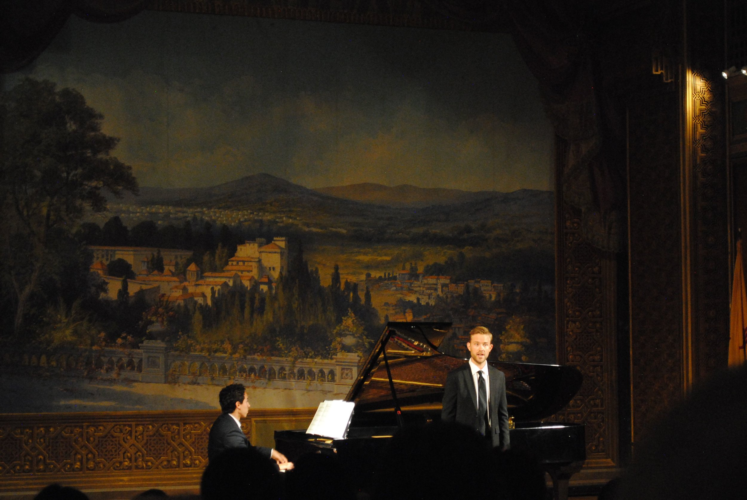 Tenor James Onstad and pianist Nathan Salazar in recital.