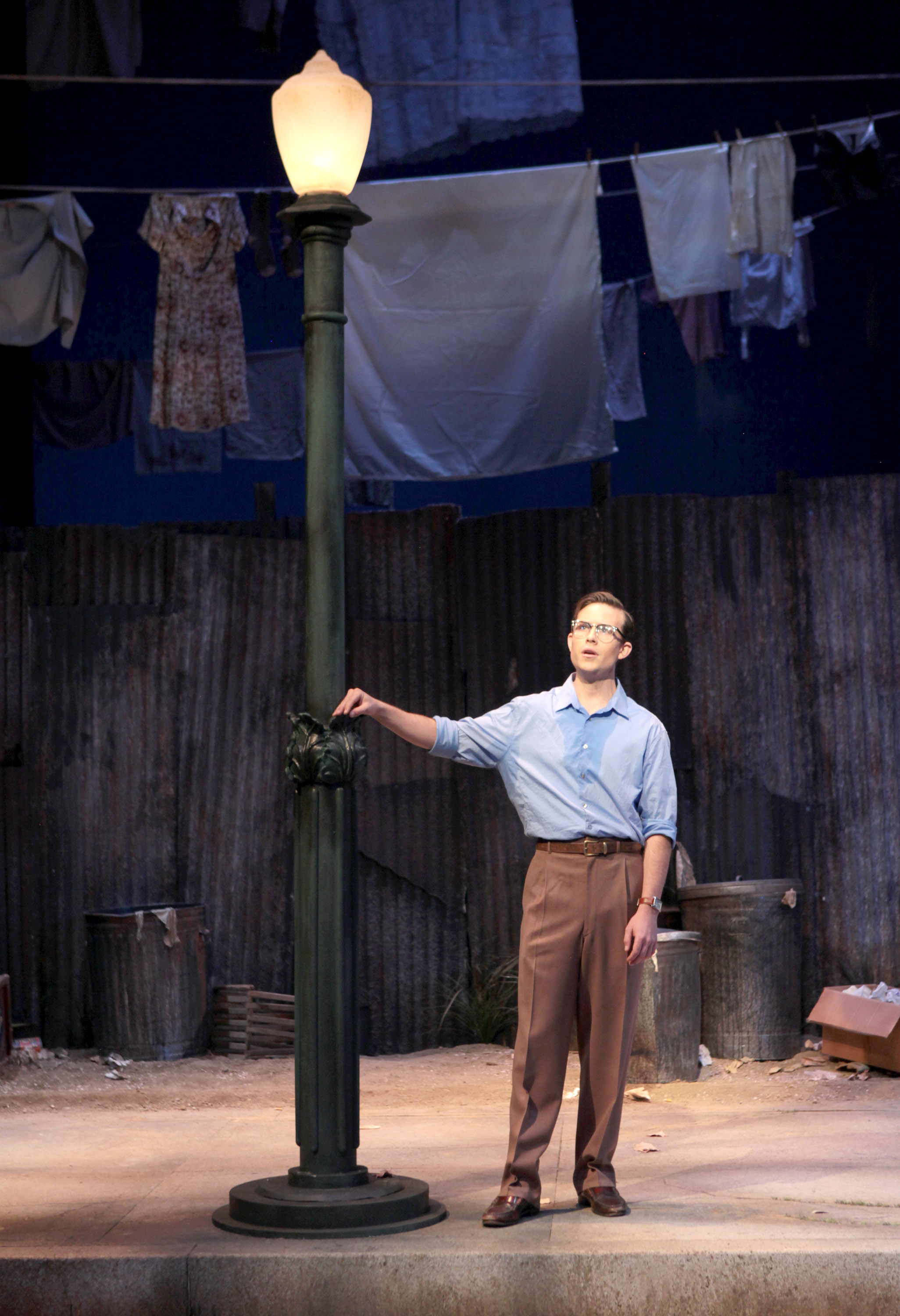 James Onstad as Sam in  Street Scene  by Kurt Weill  University of Cincinnati College-Conservatory of Music (CCM)