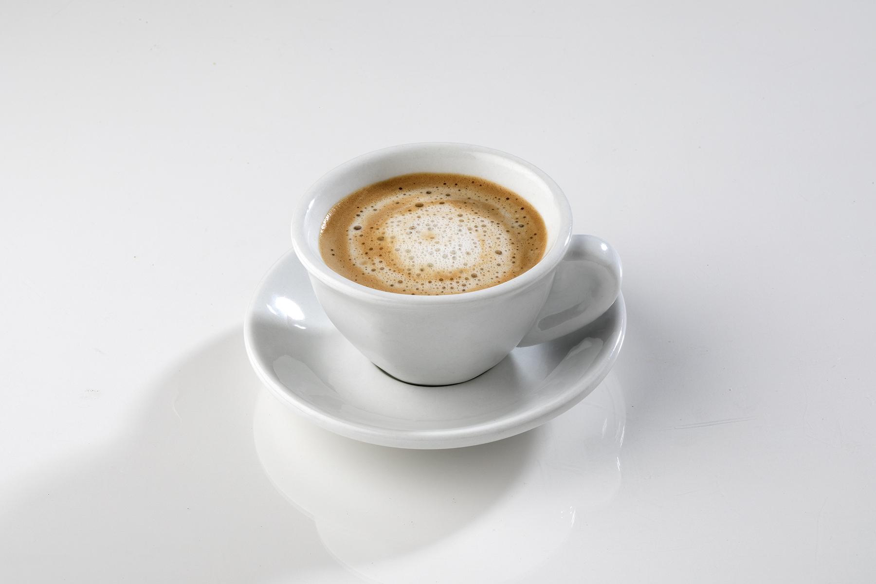 Cortadito: coffee with steam milk
