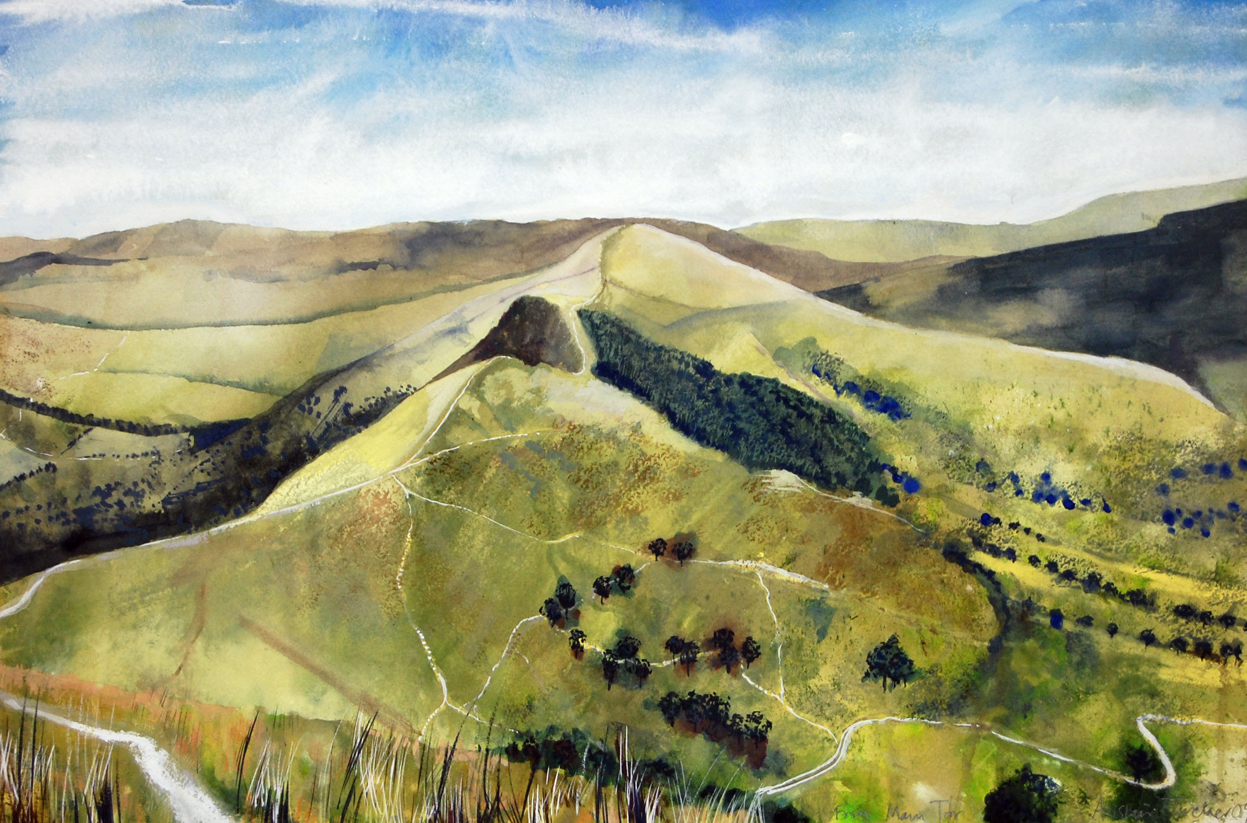 Loose Hill from Mam Tor