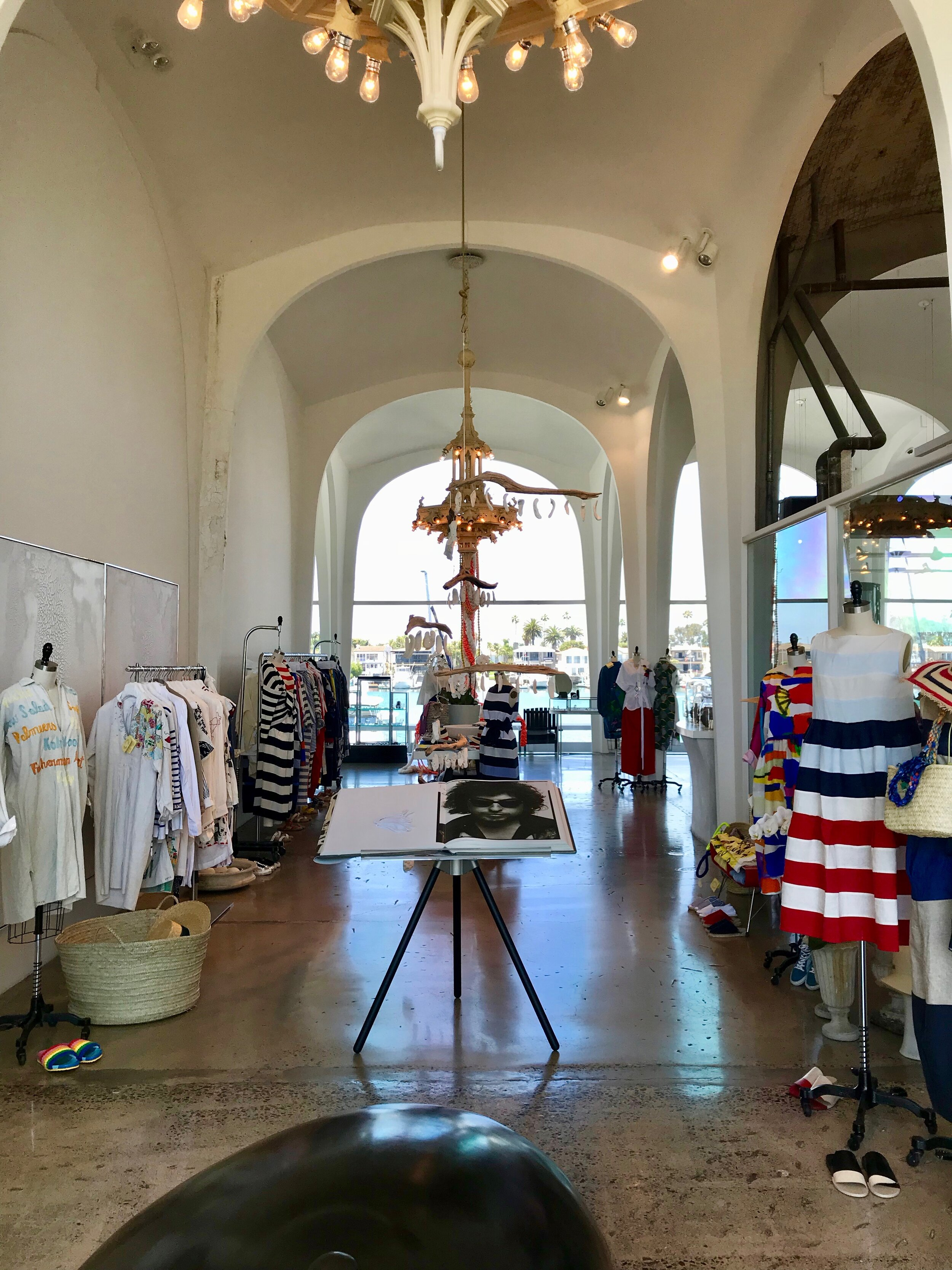 The interior of the Stuft Shirt, now A'maree's, 2241 West Coast Highway, Newport Beach, CA
