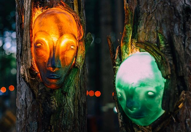 Our tree spirits will once again be making @electric_forest their temporary home to guide us through the Jardín de Sueños and introduce everyone to some new beings! — I'll be building in the forest with @tigrebailando @zachschumack and @zing.zing.dynamite for the next couple weeks and look forward to sharing more after the festival 🌲👽🌲 .. .. ... . . . . . . . . . . #electricforest #ef #festival #art #jardindesueños #installationart #tigrebailando #sculpture #artlife #mask #forest #spirit #exploremore #makersmovement #artofvisuals #visualsoflife #summer #getoutside #explore #makersgonnamake #arty #artphotography #lifestyle #festivalphotography #nikon #nikonusa #createcommune #create #thecreatorclass #exploretocreate