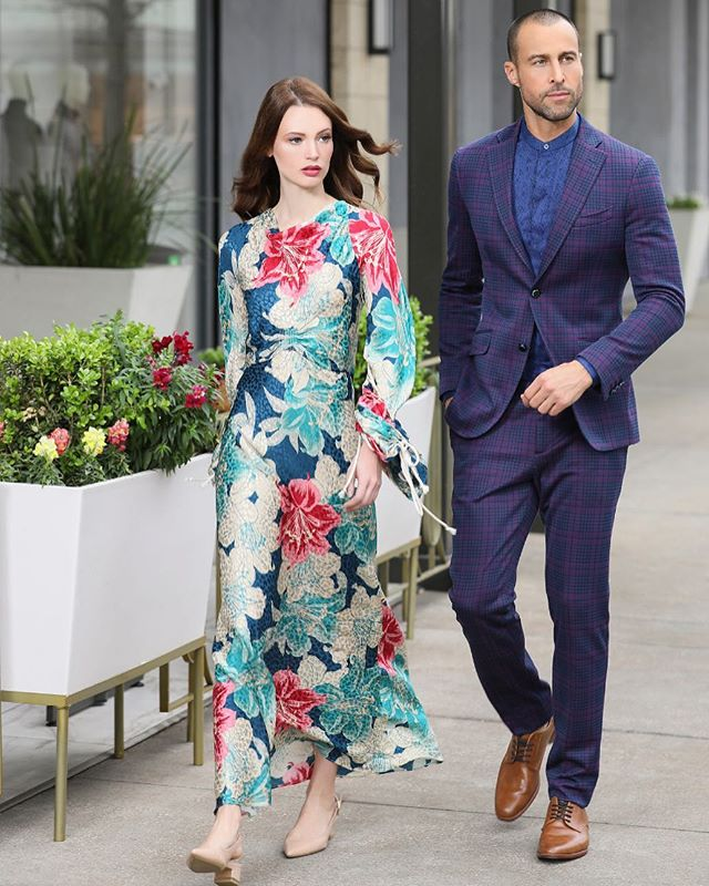 Our models making a fashion statement as they strut @etro's 2019 Spring Collection. What a fun shoot at River Oaks District with our amazing team-  Photographer: Michelle Larson @larsongroupcreative Model: @thedantespencer @monajohannesson from @lamodels Styling: @marzifat  Makeup: @jenmarinemakeup Hair: @louislopez07 Lighting: @josuesphotos and @rickcarlson3383  Shot on location at @rodistrict.  #fashion #love #style #instagood #photography #photooftheday #beautiful #model #like4like #beauty #followme #girl #me #outfit #art #cute #instalike #moda #design #follow #tbt #makeup #ootd #shopping #dress #photo #girls #picoftheday #instadaily #jewelry