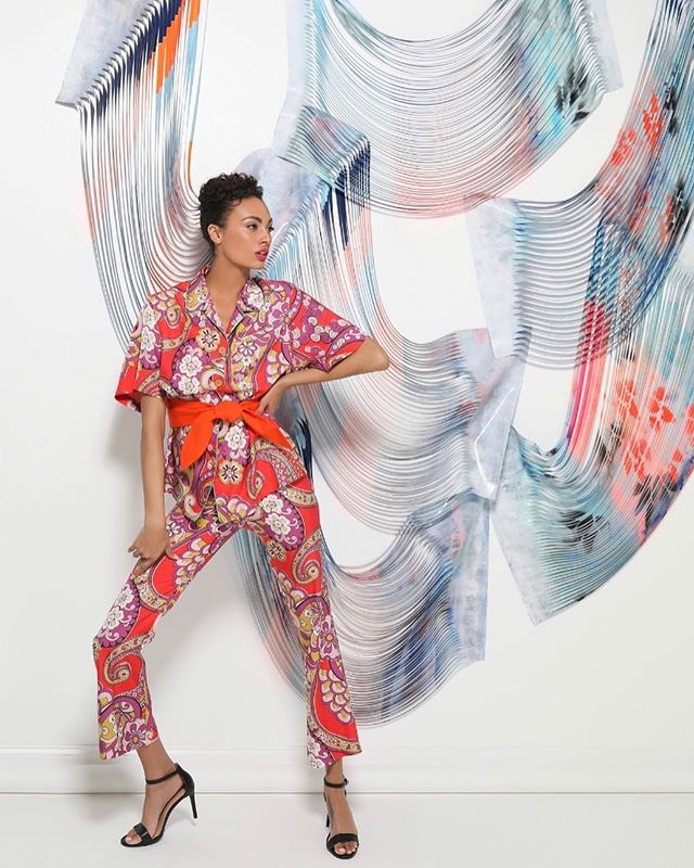 Always an amazing collaboration of creatives for The Shops Buckhead Atlanta. The Spring 2019 shoot was full of bright colors, bold prints and tons of talent. Working with local Atlanta artist @mantydey was such a treat. Her stunning sculptural pieces and painted backdrops blended beautifully with the designer fashions. Thanks to the entire team who made the images from this day something we can all be proud of!! #artistsatwork  Photographer: Michelle Larson @larsongroupcreative  Artist: @mantydey  Models: @jaydenrobison  Styling: @hannahjdotco  Makeup: @samanthatrinhmakeup  Hair: @discodestiny  Lighting and more: @jimmytothejohnston and Rick Studio: @parkstudios.co