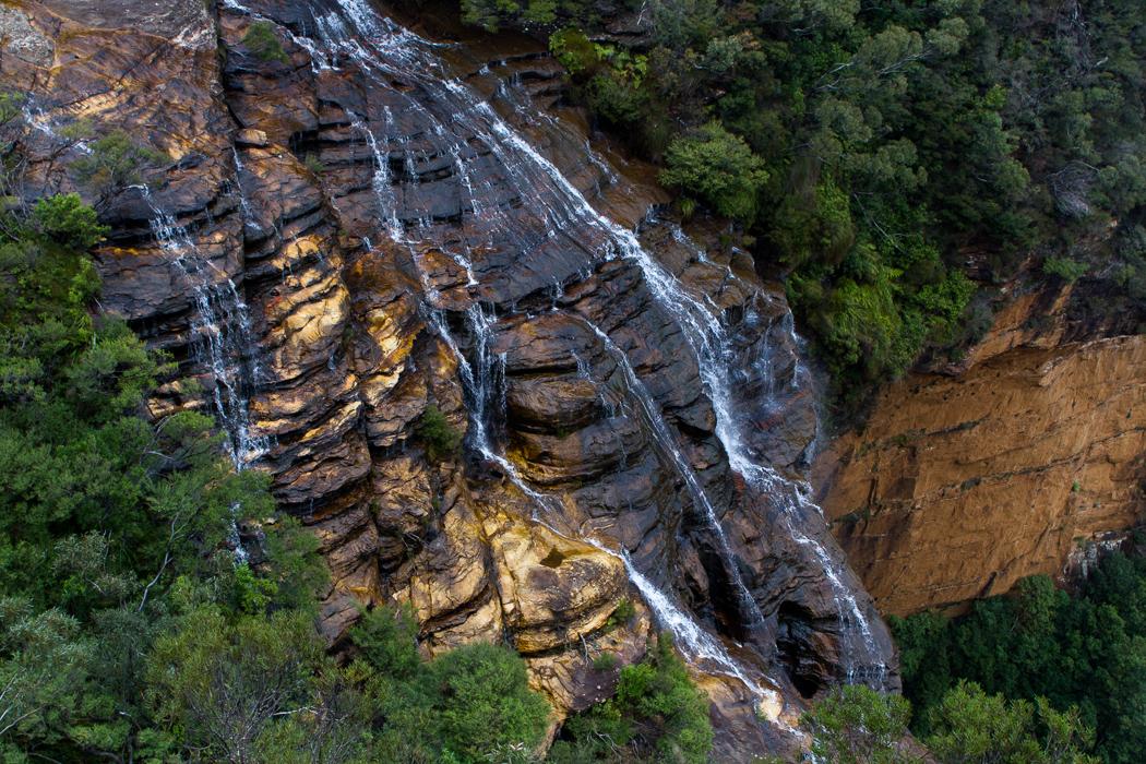 Wentworth Falls, Blue Mountains. Australia