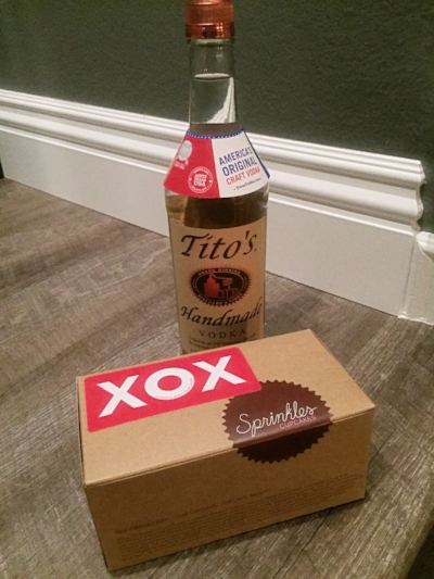 Cupcakes and Vodka