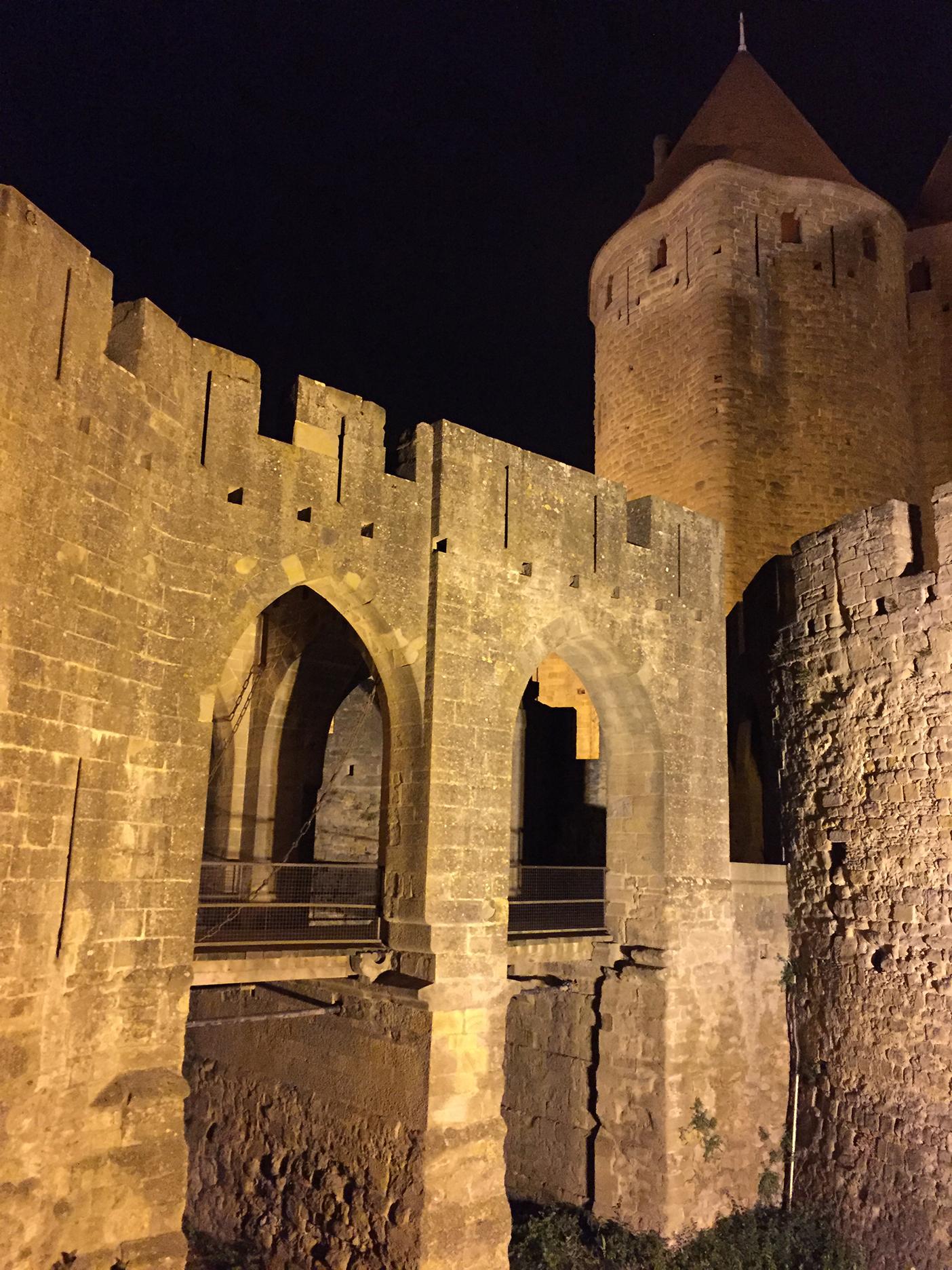 Porte Narbonnaise, the main entrance
