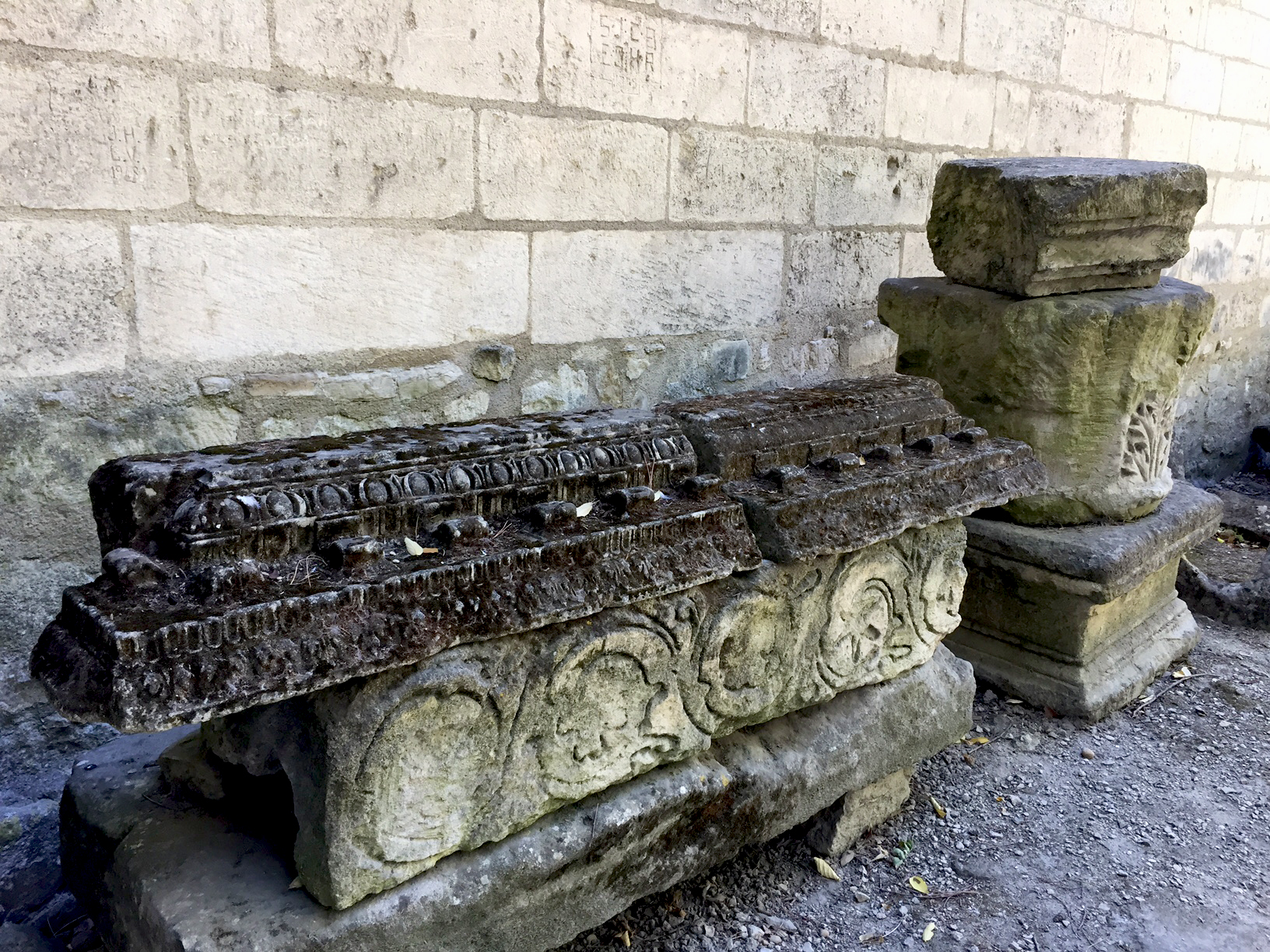Alyscamps sarcophagus