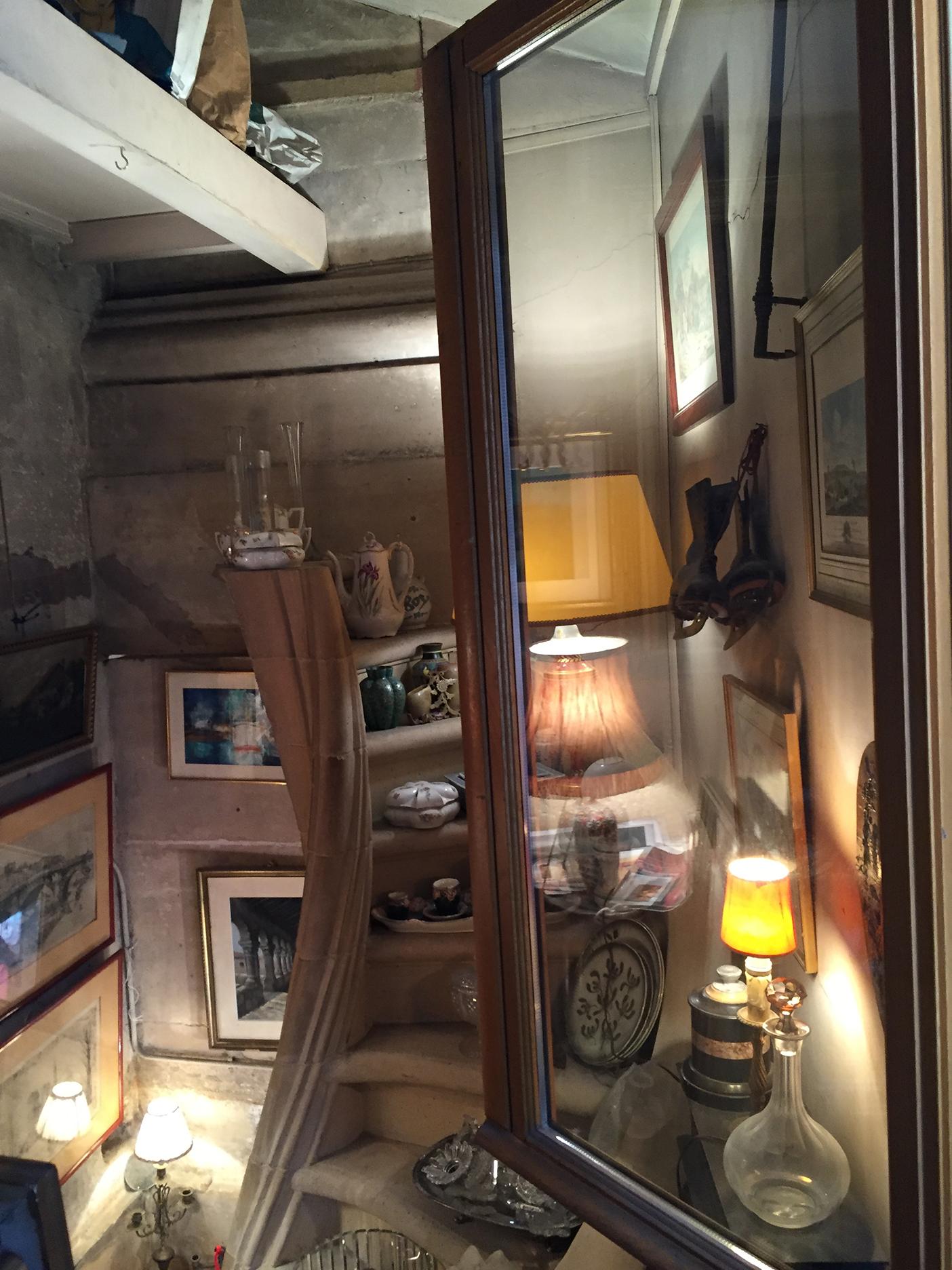 Second floor at Rarissime