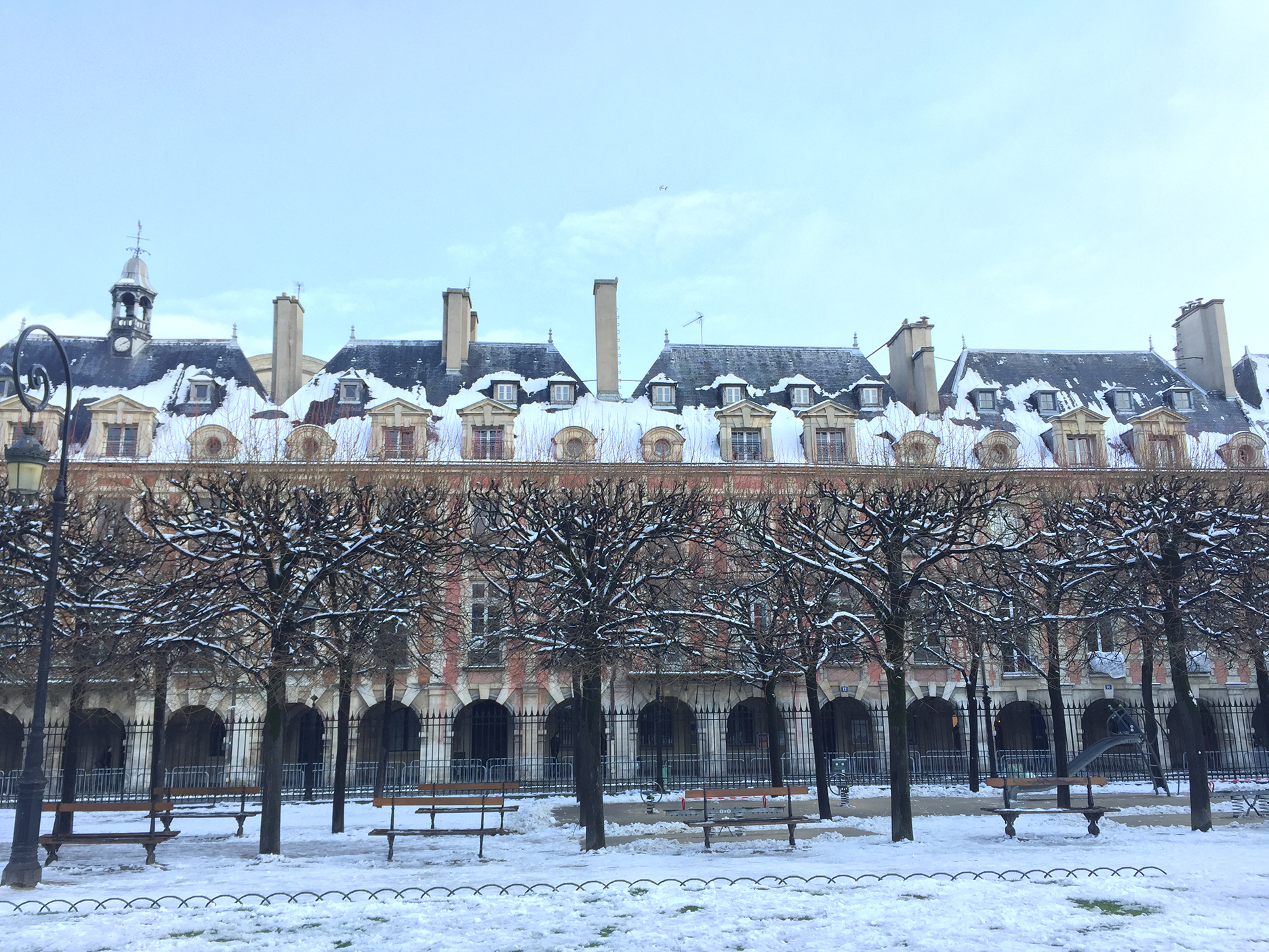Place des Vosges, stunning in all seasons
