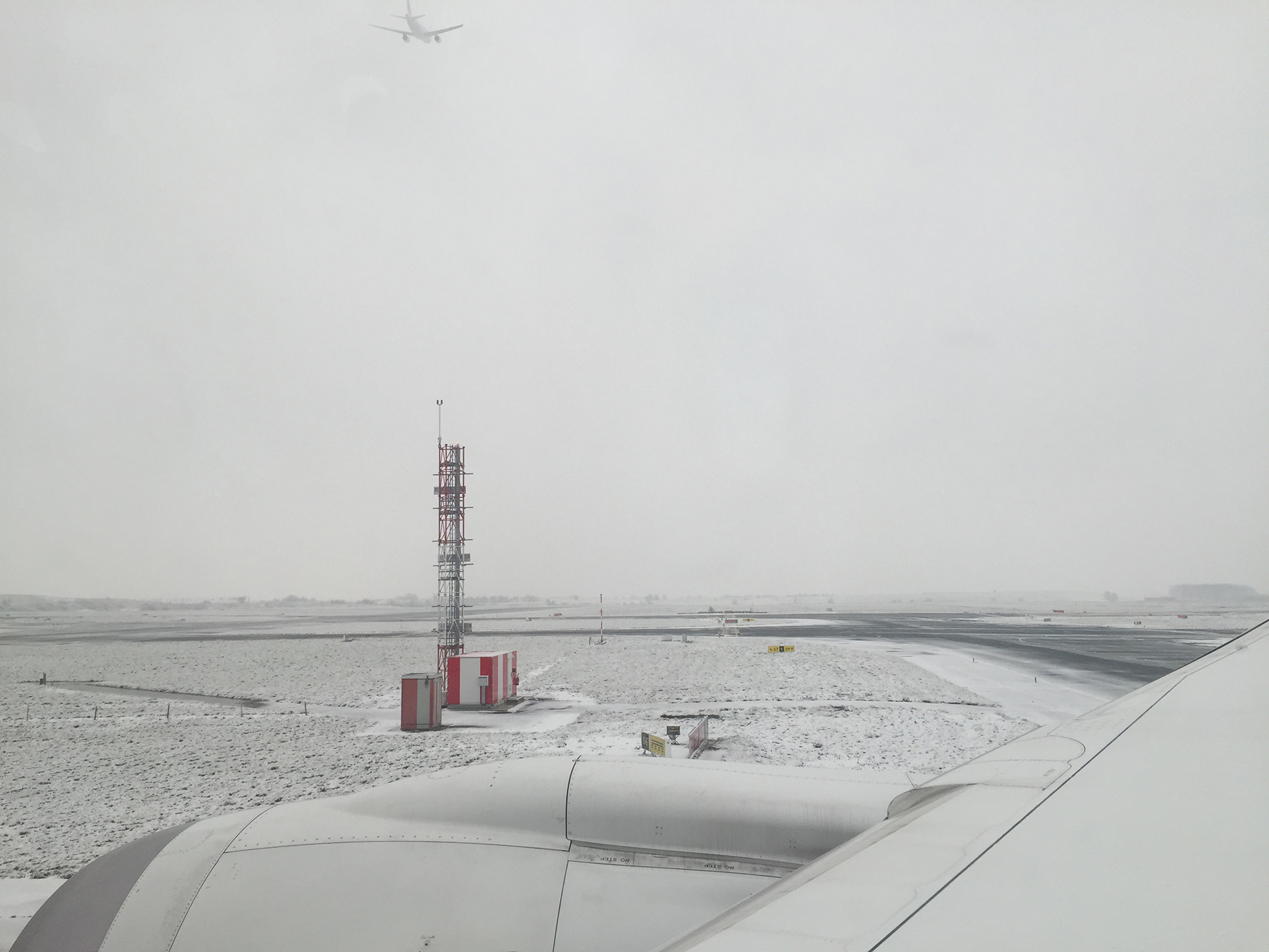 Otherworldly CDG airport in February 2018