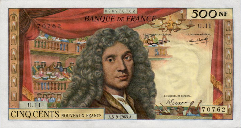 Molière, 500 NF