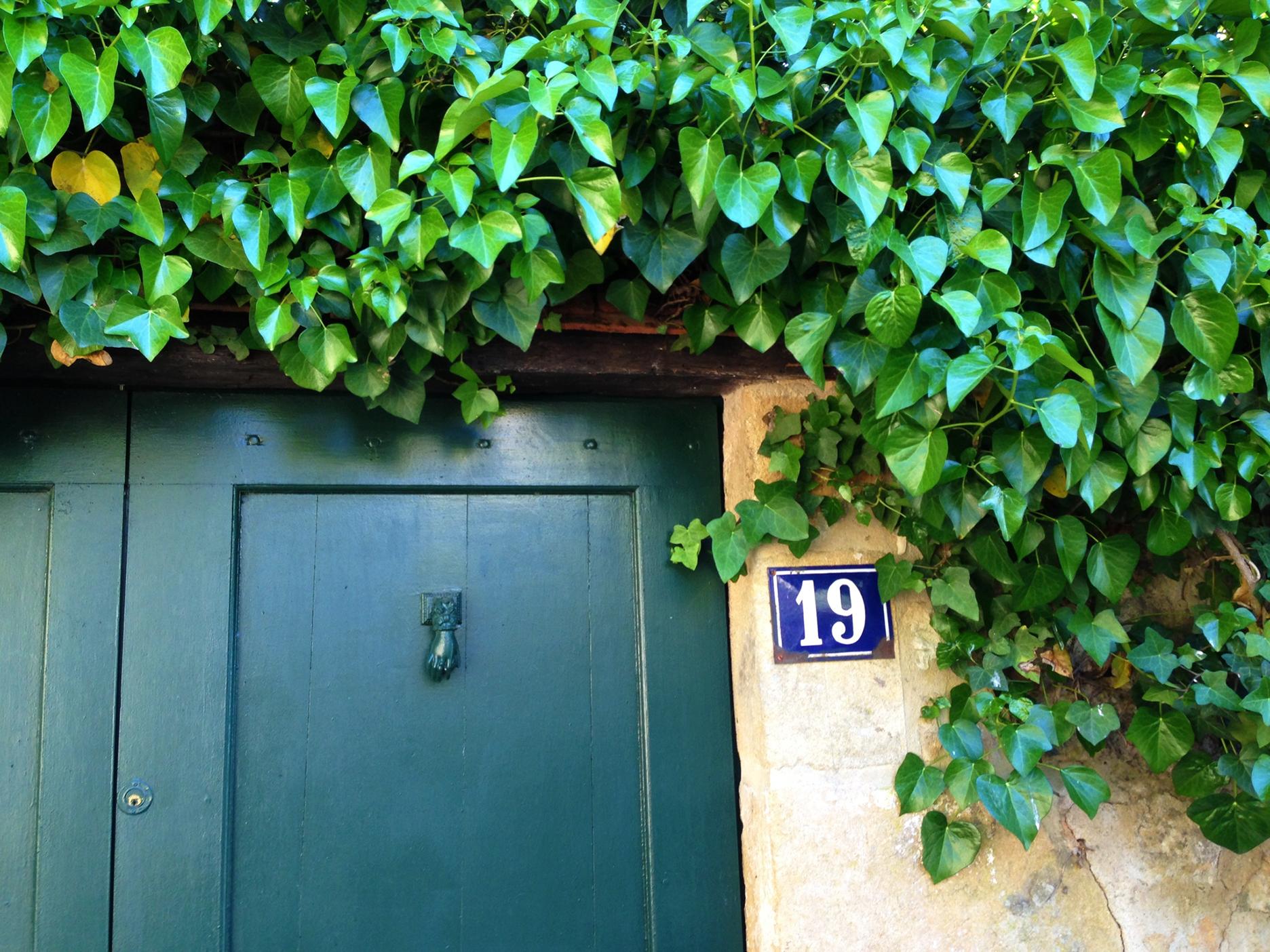 A good door knocker will dress up any ordinary door