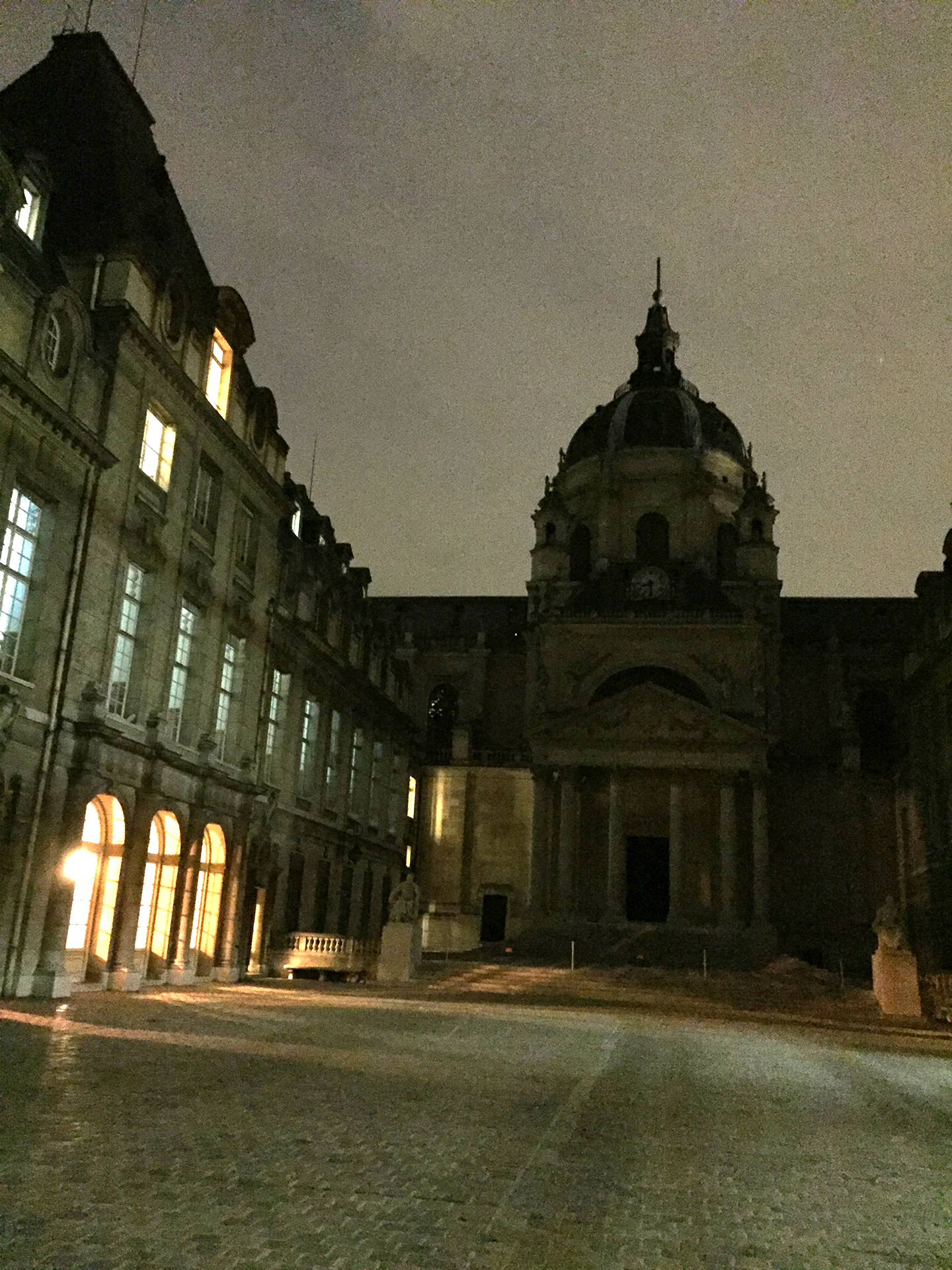 The chapel and cour d'honneur of the Sorbonne
