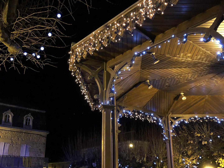 Christmas kiosk