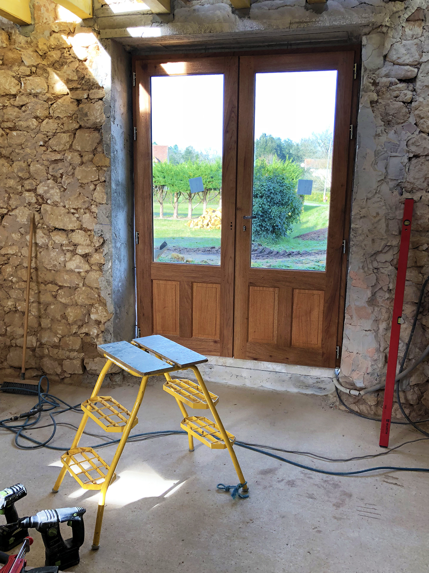 French doors. In France…