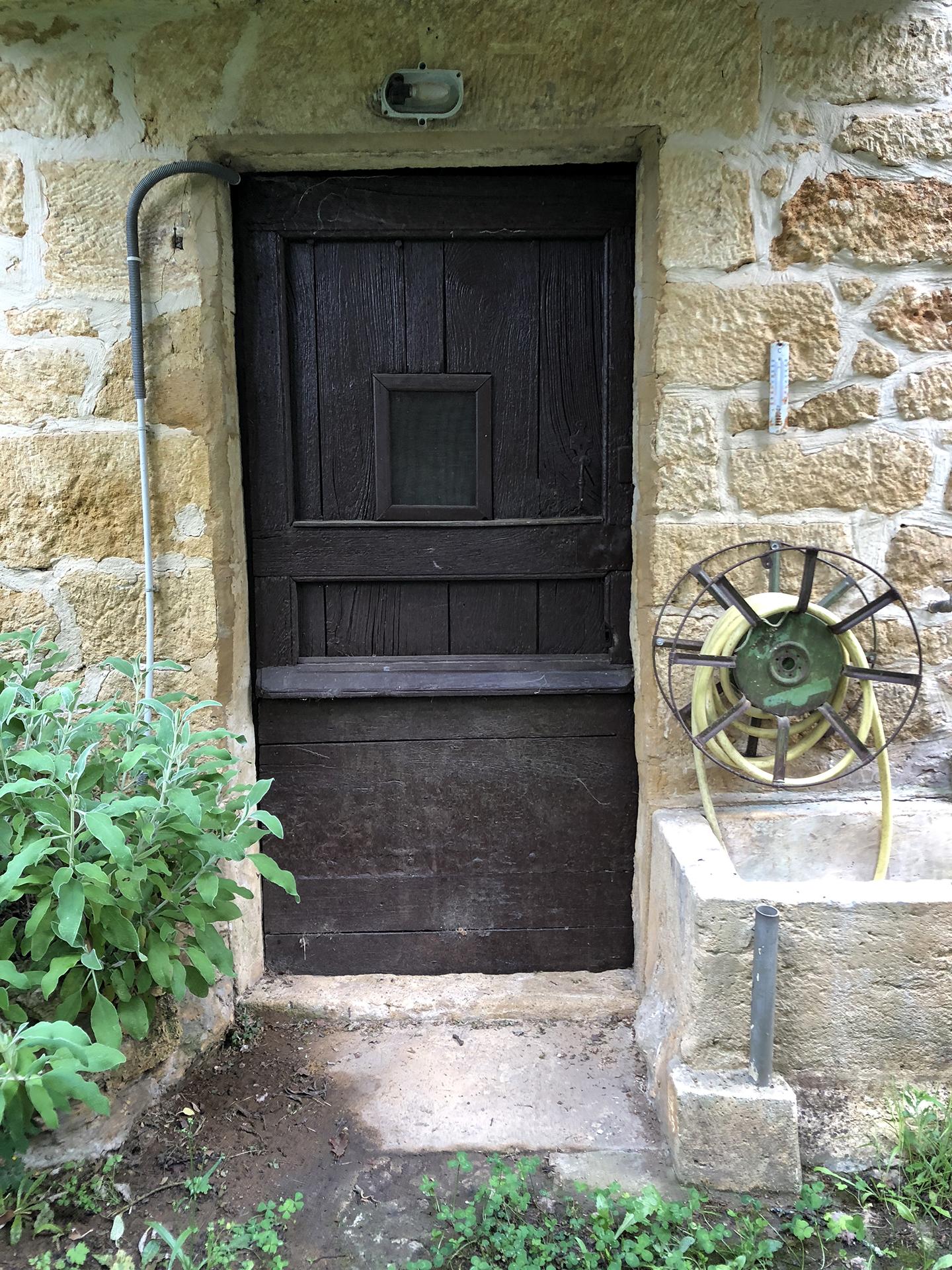 Entrance to the cellar