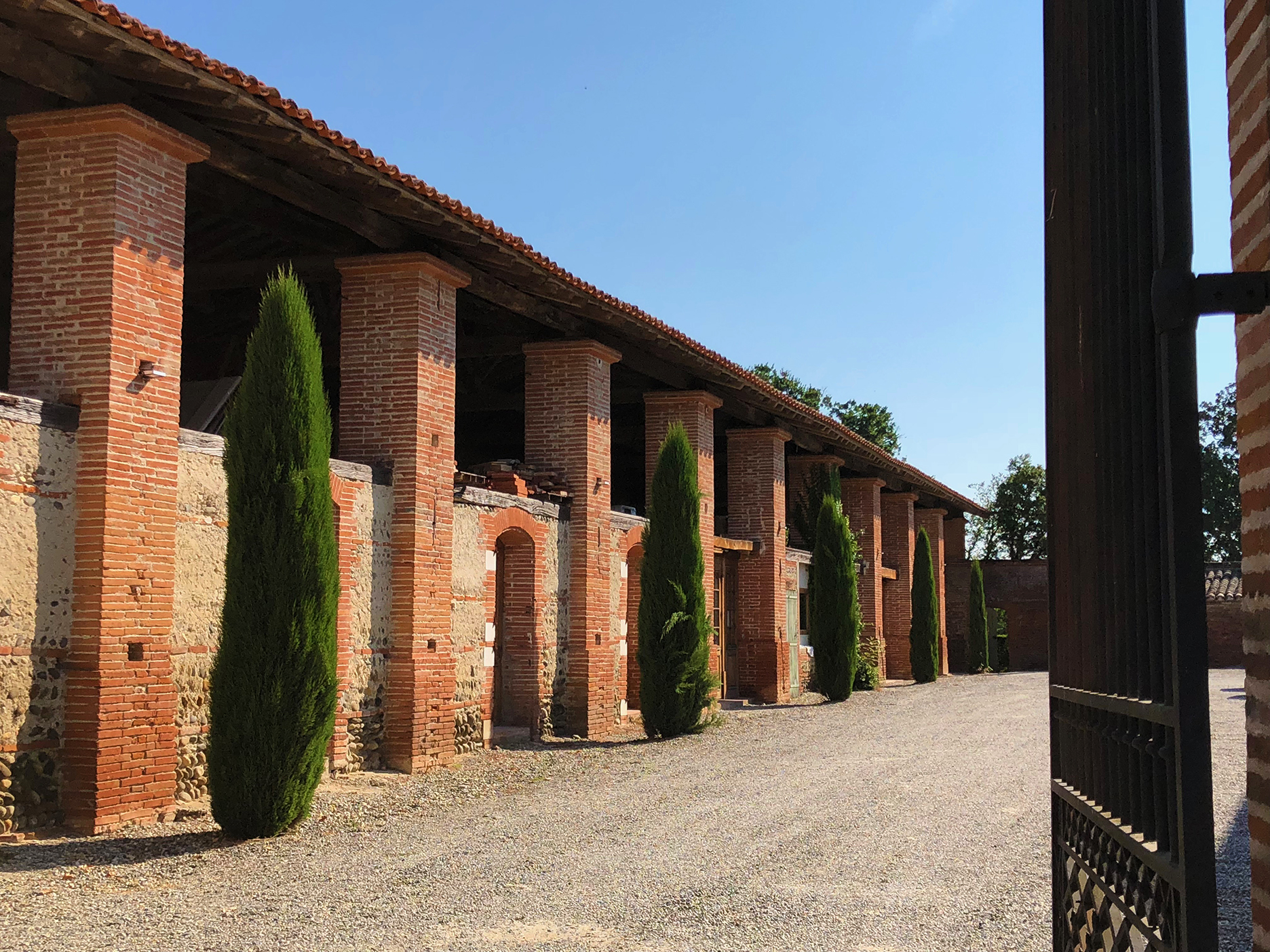 Stables at the château de Merville