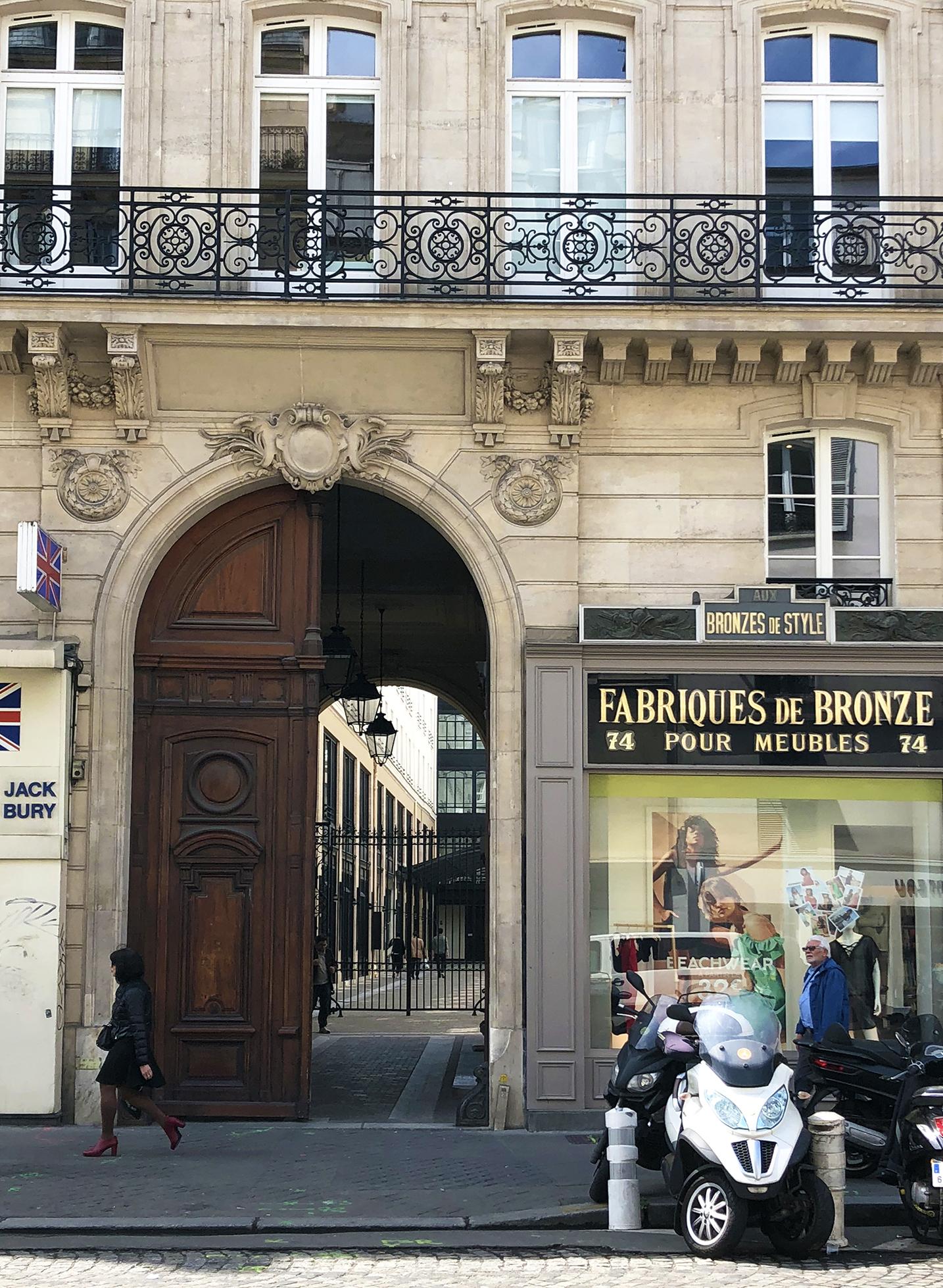 Carriage entrance from rue du Faubourg Saint-Antoine to cour des Bourguignons