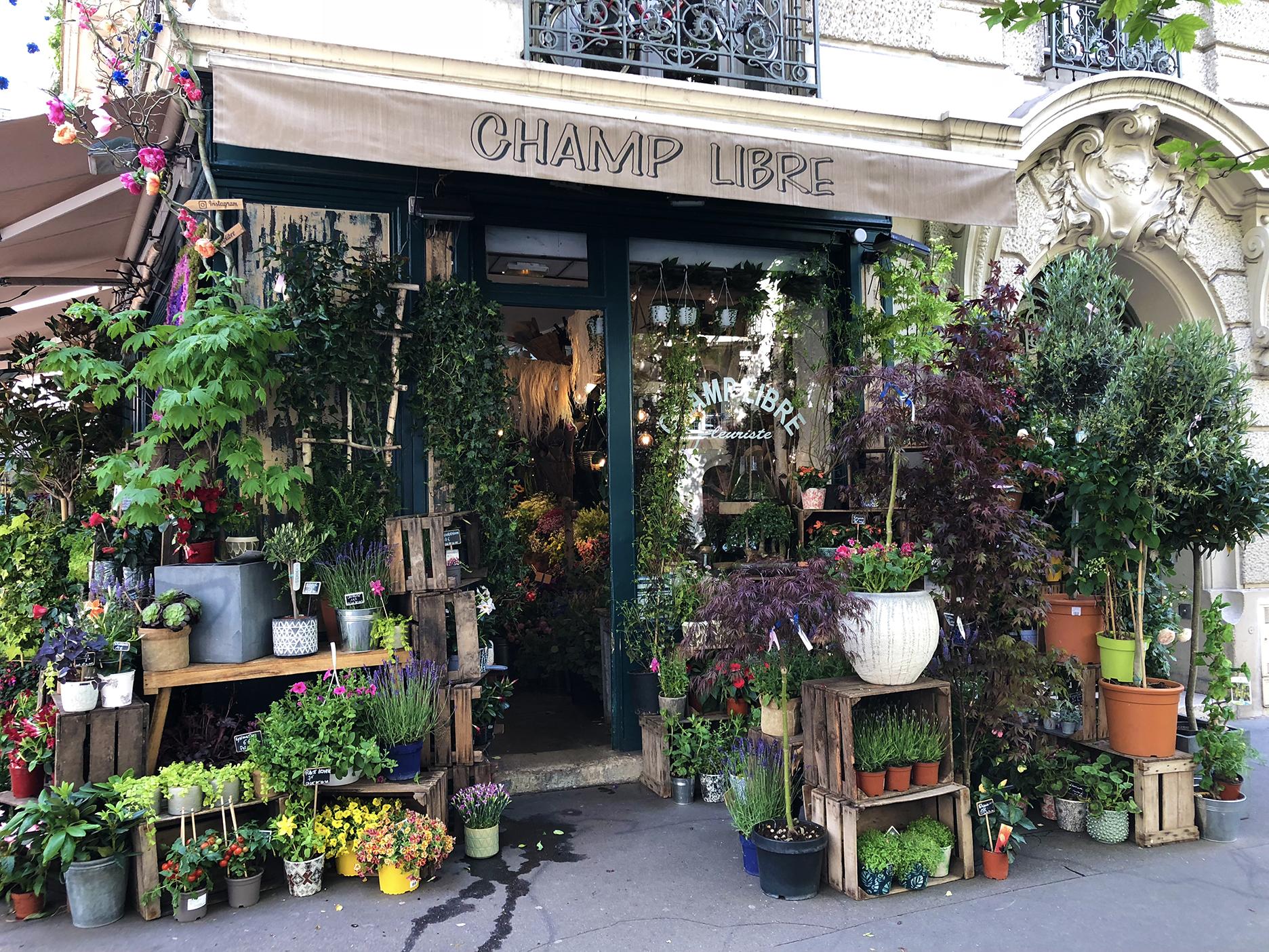 Floral shop at the corner of avenue Ledru-Rollin. Love the name.