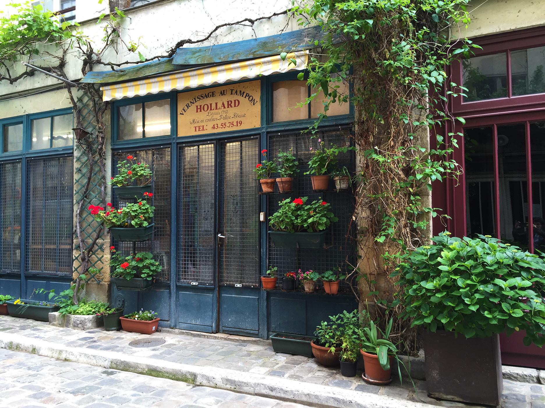 Passage Lhomme, off rue de Charonne