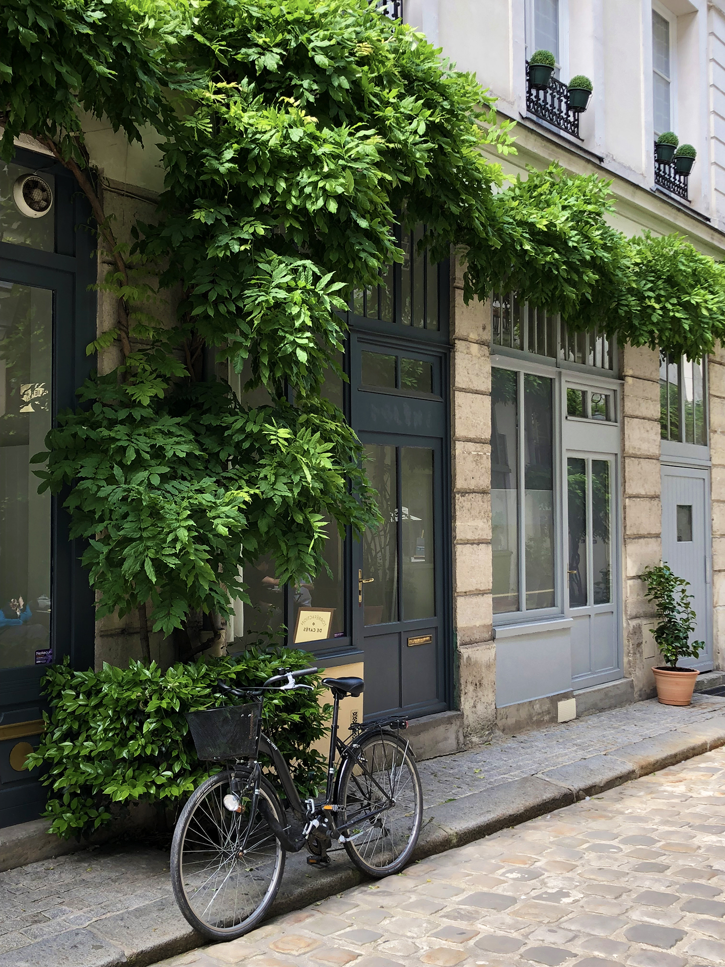 Cour Damoye, a peaceful retreat just one block from place de la Bastille.