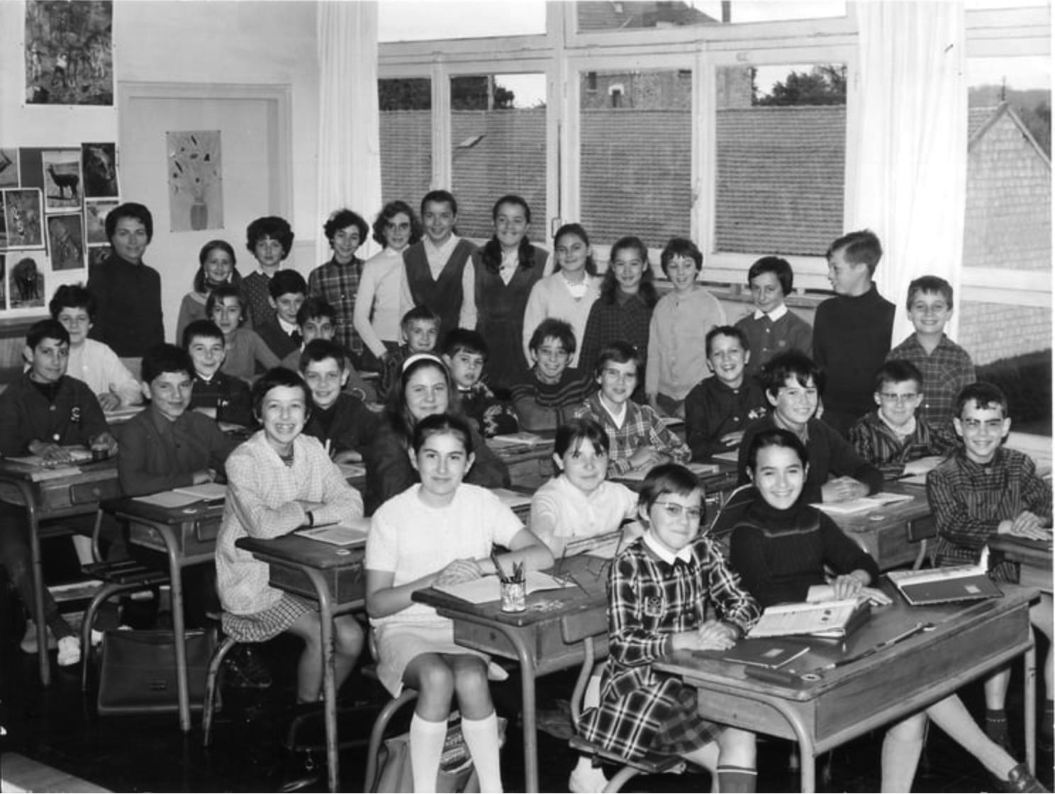 My classroom, 1968