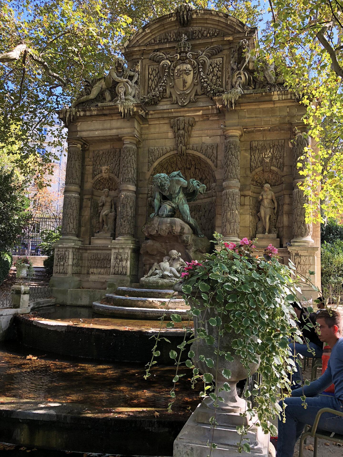 Medicis fountain