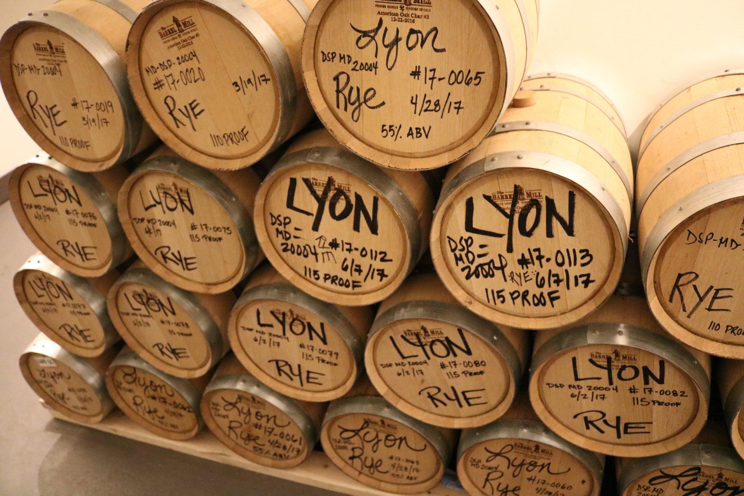 Lyon Rum Barrels.JPG